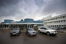 <p>A general view of Spyker Cars Saab factory in Trollhattan September 7, 2011. REUTERS/Bjorn Larsson Rosvall/Scanpix</p>