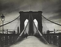 "<p>A handout photo shows a 1938 gelatin silver print taken by Alexander Alland named ""Brooklyn Bridge"". REUTERS/The Jewish Museum/Handout</p>"