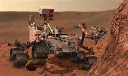 <p>Ilustración del vehículo Curiosity de la NASA. Un vehículo impulsado por energía nuclear tan grande como un auto compacto iniciará este fin de semana un viaje de nueve meses hacia Marte para saber si el planeta tiene o alguna vez tuvo la capacidad de albergar vida. REUTERS/NASA/JPL-Caltech/Handout Imagen para uso no comercial, ni vent1as, ni archivos. Solo para uso editorial. No para su venta en marketing o campañas publicitarias. Esta imagen fue entregada por un tercero y es distribuida, exactamente como fue recibida por Reuters, como un servicio para clientes.</p>