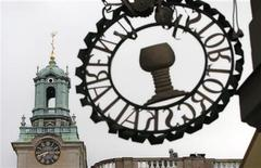 <p>The Stockholm Cathedral is seen in Gamla Stan or the Old Town district of Stockholm June 14, 2010. Sweden's Crown Princess Victoria and her fiance Daniel Westling will be married in the cathedral on June 19, 2010. REUTERS/Bob Strong</p>