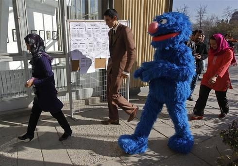 Sesame Street goes to Afghanistan