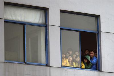 China on strike