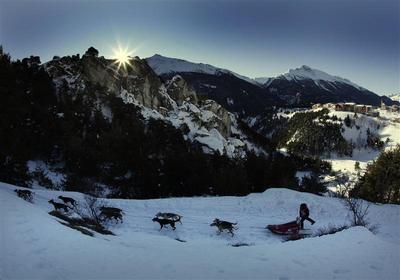 Race across the Alps