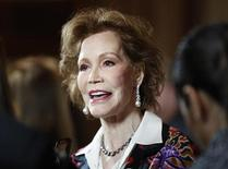 "<p>Actress Mary Tyler Moore arrives for the taping of ""Betty White's 90th Birthday: A Tribute to America's Golden Girl"" in Los Angeles January 8, 2012. REUTERS/Sam Mircovich</p>"