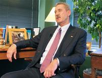 <p>Texas billionaire Allen Stanford is interviewed in Houston in this April 20, 2009 file photo. REUTERS/Chris Baltimore/Files</p>