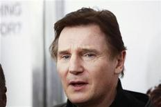"<p>Cast member Liam Neeson arrives for the premiere of the film ""The Next Three Days"" in New York November 9, 2010. REUTERS/Lucas Jackson</p>"