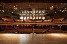 <p>The interior of the live performance venue Ryman Auditorium is seen in Nashville, Tennessee in this undated handout photo courtesy of the Ryman Auditorium. REUTERS/Ryman Auditorium/Bob Schatz/Handout</p>