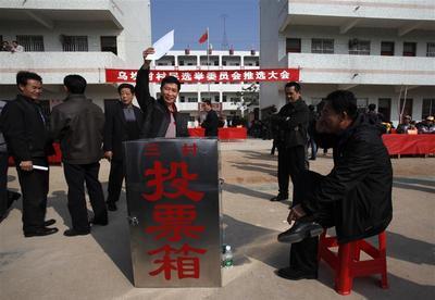 China's rebel village