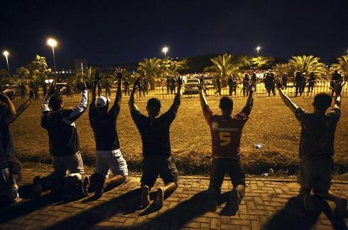 Police strike triggers crime wave