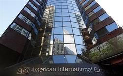 <p>L'assureur American International Group a publié jeudi un bénéfice plus que doublé au premier trimestre par rapport au même trimestre de l'an dernier qui avait été affecté par des pertes dues au séisme du 11 mars au Japon. Le bénéfice net de la période janvier-mars se monte à 3,2 milliards de dollars. Le bénéfice net du premier trimestre 2011 était de 1,3 milliard. /Photo d'archives/REUTERS/Mike Segar</p>
