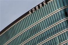 <p>Le groupe pétrolier chinois CNOOC a annoncé lundi avoir conclu le rachat du canadien Nexen pour environ 15,1 milliards de dollars (12,44 milliards d'euros). /Photo d'archives/REUTERS/Petar Kujundzic</p>