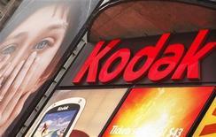 <p>Imagen de archivo de una pantalla de Kodak en Times Square, Nueva York, ene 13 2012. Eastman Kodak perdió una apelación en una disputa de patentes por una tecnología de imagen digital con Apple y Research In Motion, lo que podría suponer un revés en los esfuerzos del que fuera un gigante de la fotografía, ahora en bancarrota, para recaudar dinero vendiendo patentes. REUTERS/Eduardo Munoz</p>