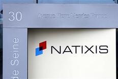 <p>Natixis est l'une des valeurs à suivre à la Bourse de Paris après son annonce jeudi soir d'un résultat net en repli de 22% pour le deuxième trimestre, à 394 millions d'euros. /Photo d'archives/REUTERS/Charles Platiau</p>