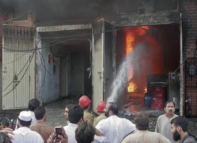 Deadly fires in Pakistan