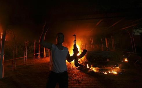 Militants storm U.S. consulate