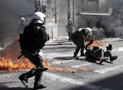 Greek fury over austerity