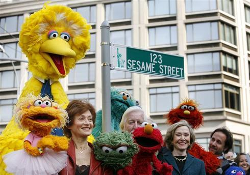 Searching for Sesame Street