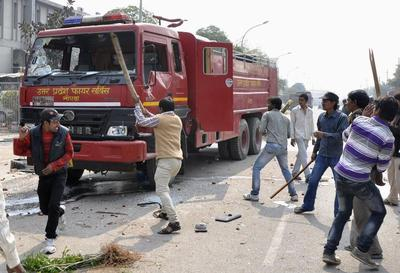 Nationwide strike hits India