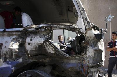 Bombings on Iraq invasion anniversary
