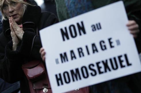 France's gay marriage debate