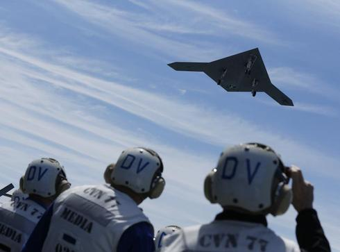 Carrier drone launches