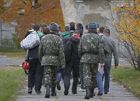 Ukraine's last conscripts
