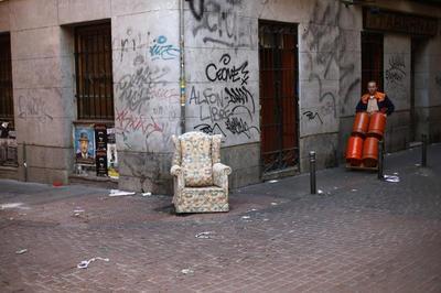 Madrid on strike