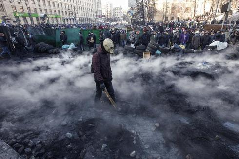 Fiery clashes in Ukraine