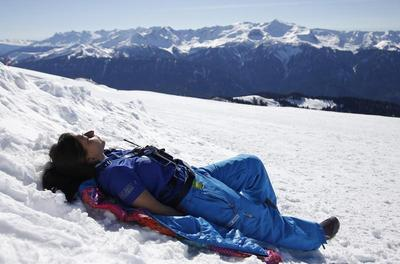 Warm weather in Sochi