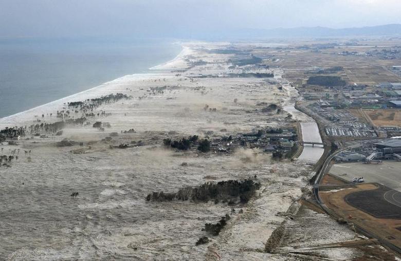 Japan tsunami hd video