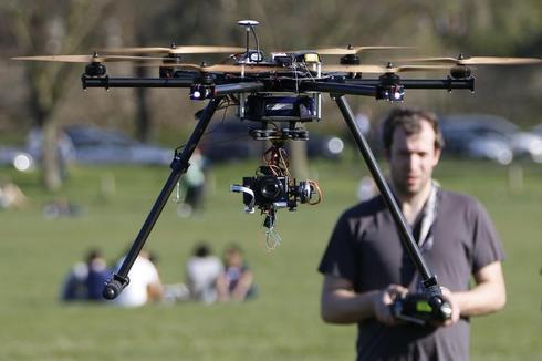 Drones over Paris
