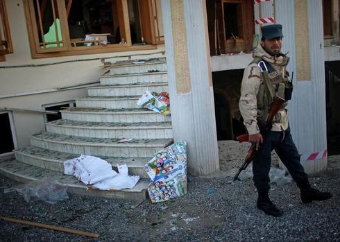 Taliban gunmen attack election office