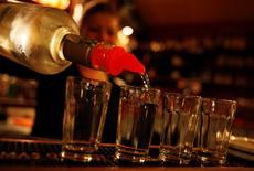 Trois membres de la sécurité de Barack Obama ont été rapatriés d'Amsterdam pour abus d'alcool en marge de la visite du président des Etats-Unis aux Pays-Bas.     REUTERS/David W Cerny (CZECH REPUBLIC - Tags: FOOD HEALTH)