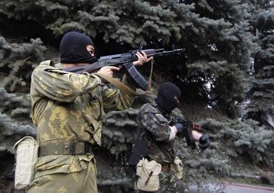 Pro-Russians seize Luhansk