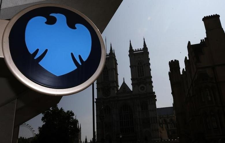 A  branch of Barclays Bank is seen opposite Westminster Abbey in central London July 17, 2013.  REUTERS/Andrew Winning