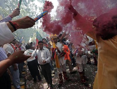 Modi wins India election