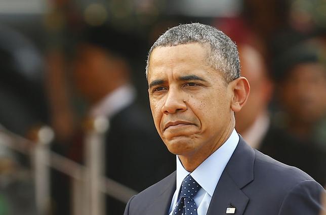 5月16日、オバマ米大統領は先月のアジア歴訪で、中国がさらに強引な手段に出た場合、米国が同盟国を支援するとの考えをあらためて示したが、中国がベトナムと領有権を争う南シナ海で大胆な動きに打って出たことで、疑念が浮上している。クアラルンプールで4月撮影(2014年 ロイター/Samsul Said)