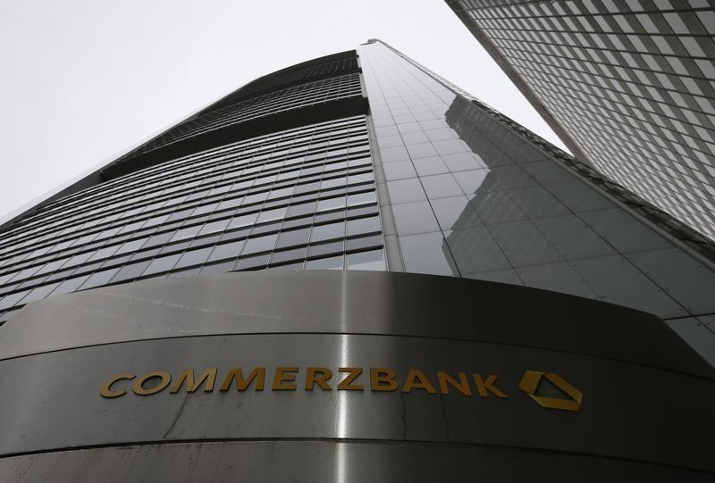 Commerzbank fires one forex trader and suspends another sources reuters - Commerzbank london office ...