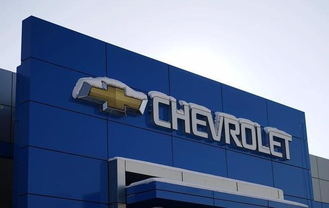 5月21日、米GMは2004─08年に製造されたシボレーブランドの小型車21万8000台超をリコールすると発表した。写真は2月6日、米コロラド州で(2014年 ロイター/Rick Wilking)