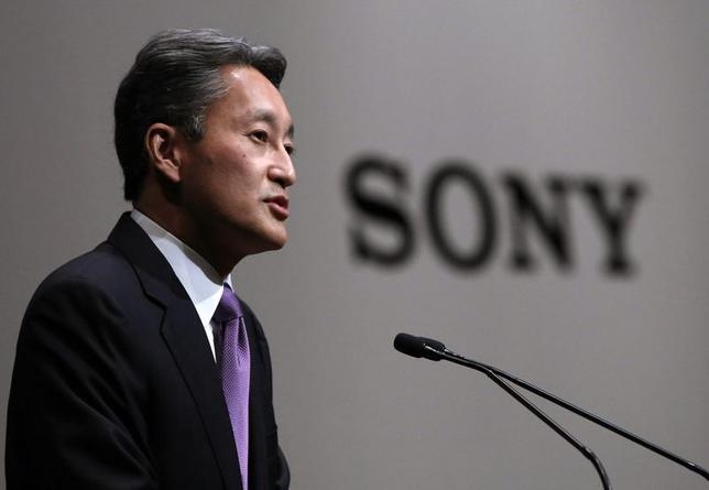 5月26日、ソニーの平井一夫社長は、黒字化を目指しているエレクトロニクス事業の方針について、規模や売り上げを追わずに収益を重視する考えを示した。22日撮影(2014年 ロイター/Yuya Shino)