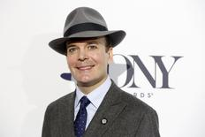 """Actor Jefferson Mays of """"A Gentleman's Guide to Love & Murder"""" arrives at a Tony Award nominee luncheon in New York April 30, 2014. REUTERS/Lucas Jackson"""