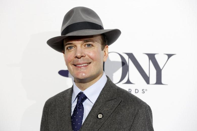 Actor Jefferson Mays of ''A Gentleman's Guide to Love & Murder'' arrives at a Tony Award nominee luncheon in New York April 30, 2014. REUTERS/Lucas Jackson