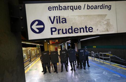 World Cup metro strike