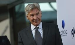 O ator Harrison Ford participa de uma pré-estreia em Los Angeles, nos Estados Unidos, no ano passado. 08/08/2013 REUTERS/Mario Anzuoni