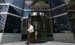 Fitch Ratings a confirmé la note AA+ de la Grande-Bretagne, laquelle est assortie d'une perspective stable. /Photo prise le 6 février 2013/REUTERS/Brendan McDermid