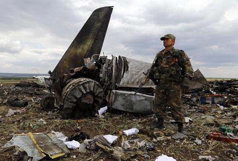 Ukraine separatists down plane