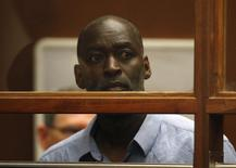 Actor Michael Jace appears at an arraignment hearing for a murder charge in Los Angeles Superior Court in Los Angeles, May 22, 2014. REUTERS/David McNew/Pool
