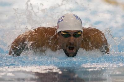 Swimming-Phelps doubles workload for next comeback meet