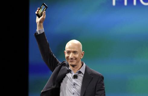 Amazon unveils 3D 'Fire' phone