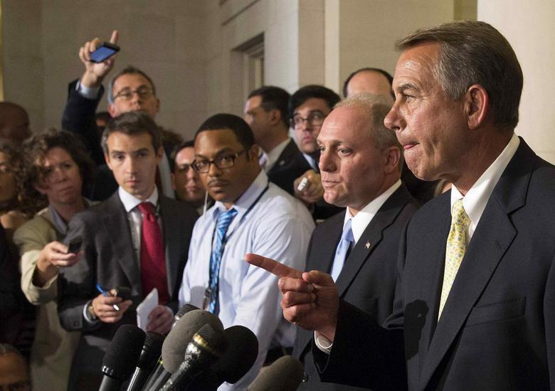 Republicans elevate Boehner ally to No. 2 House job